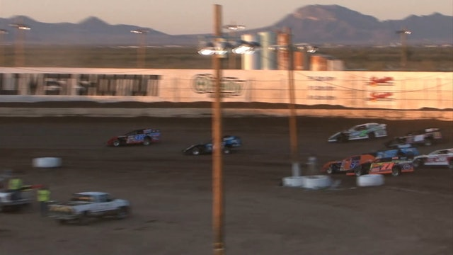Wild West Shootout Modified Heats Arizona Speedway 1/12/20