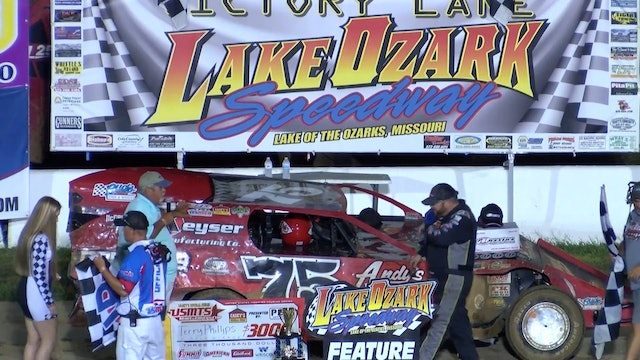 USMTS Terry Phillips Post Race Lake Ozark Speedway 8/16/19