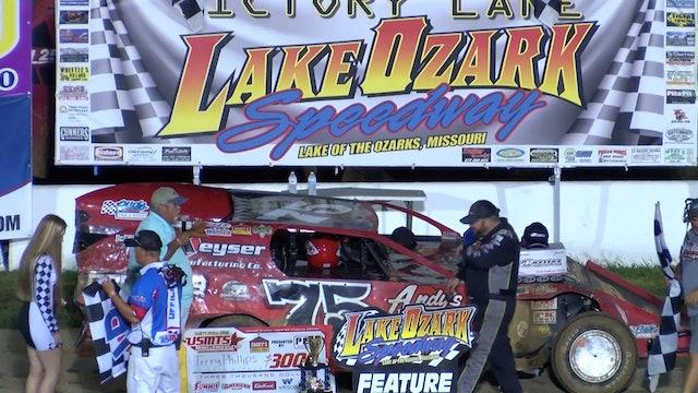 USMTS Terry Phillips Post Race Lake Ozark Speedway 8/16/19