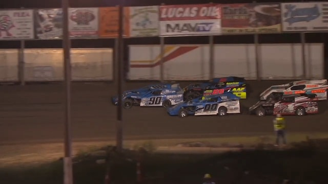 King of Kansas City USRA Modified Feature Valley Speedway 07/16/14