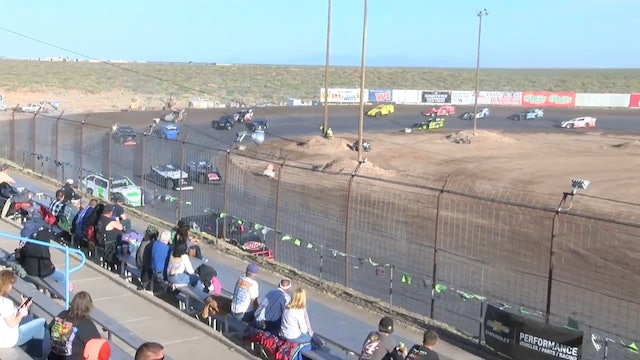 USRA X Mods A Main Southern New Mexico Speedway 4/22/18