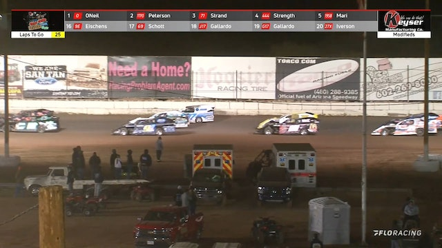 Wild West Shootout Modified A-Main Arizona Speedway 1/17/21