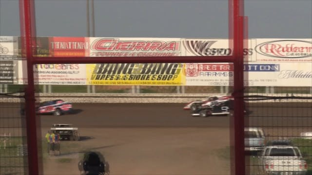 ARMS Modified Heats Route 66 Speedway...