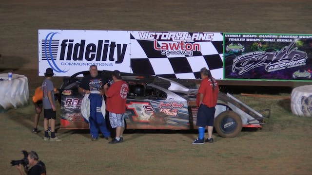 USRA Modified A-Main at Lawton Speedw...