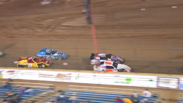 Lucas Oil Speedway A-Mod A-Main Highlights 04/14/12