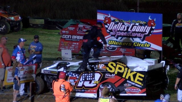 USMTS Ryan Gustin Post Race Dallas Country Speedway 8/15/19