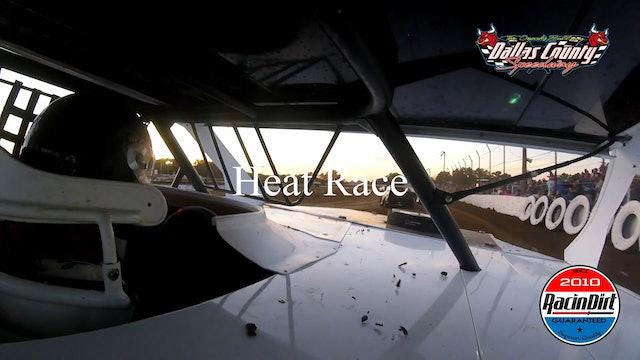 Kris Jackson USRA B-Mod In Car Dallas County Speedway 8/20/20