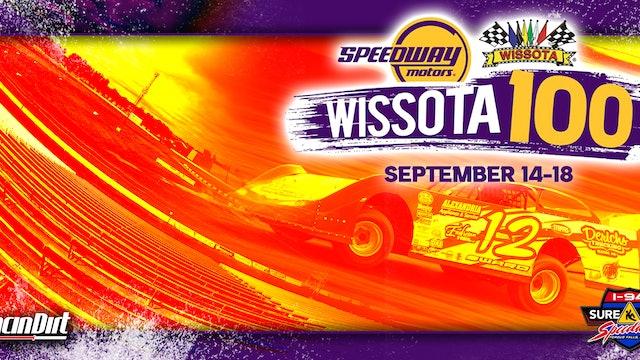 Stream Archive Wissota 100 I-94 Speedway 9/16/21