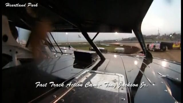 Tony Jackson Jr MLRA in Car Heartland...