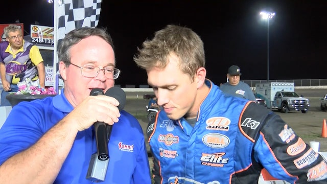 Modified Mania Nick Hoffman Champion Post Race Interview Tri City 9/28/19