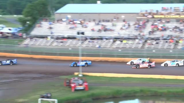 USRA Late Model A-Main Cedar Lake Spe...