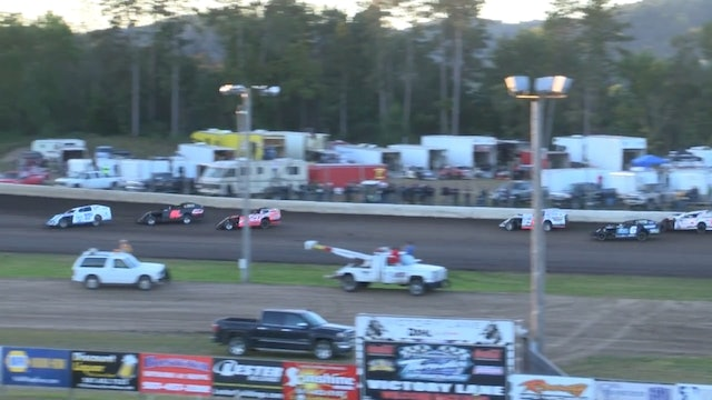 USRA B-Mod Nationals Heat Session 1 Mississippi Thunder Speedway 9/8/17