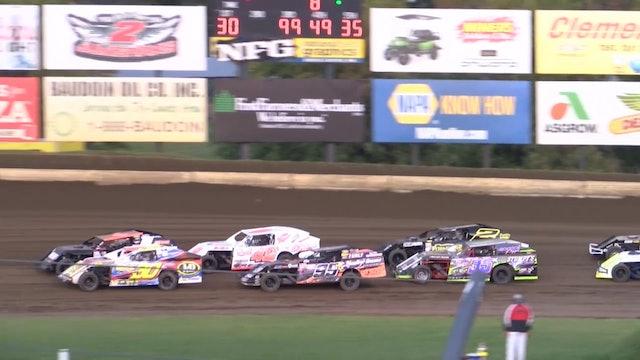 USRA B-Mod Heats Deer Creek Speedway 9/21/18