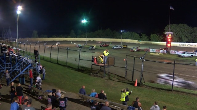 Modified Heats At Creek County Speedway 9-8-18