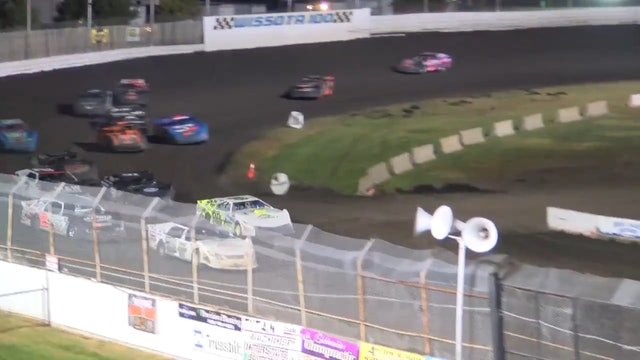 Wissota 100 Race of Champions Super Stocks A-Main Dakota State Fair 9/16/16