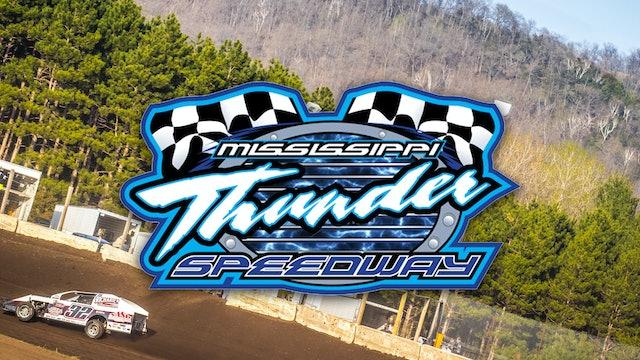 LIVE Mississippi Thunder Speedway 8/6/21