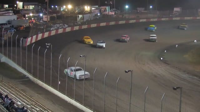 USRA Stock Car Heats Lakeside Speedwa...