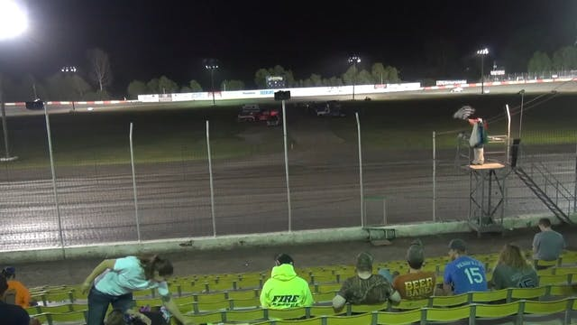USRA Modified A-Main Lakeside Speedwa...