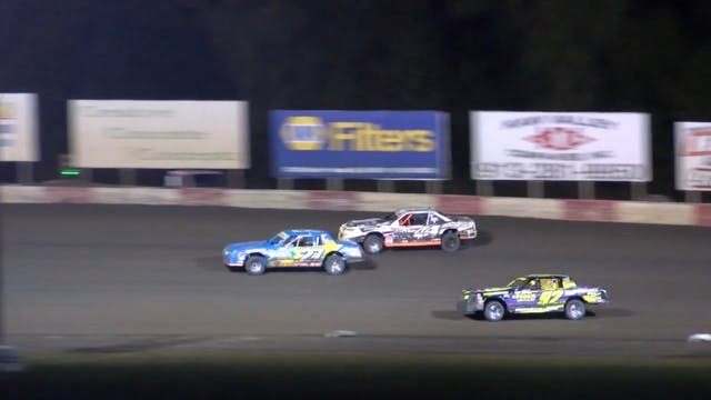 USRA Nationals Stock Car A-Main 10/14/16