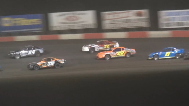 $3,000 USRA Stock Car A-Main Lakeside Speedway 6/23/17