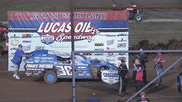 USRA Modifed A-Main Lucas Oil Speedway 8/17/19