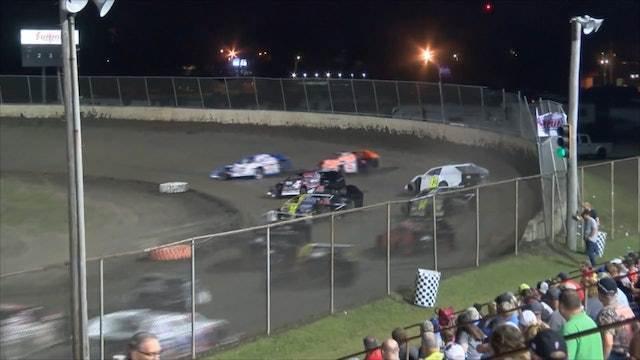 Modified Mania AMS B-Mains Tri-City Speedway 9/28/19