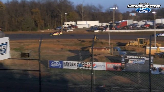 Turkey Bowl X Late Model Heats 11/26/16