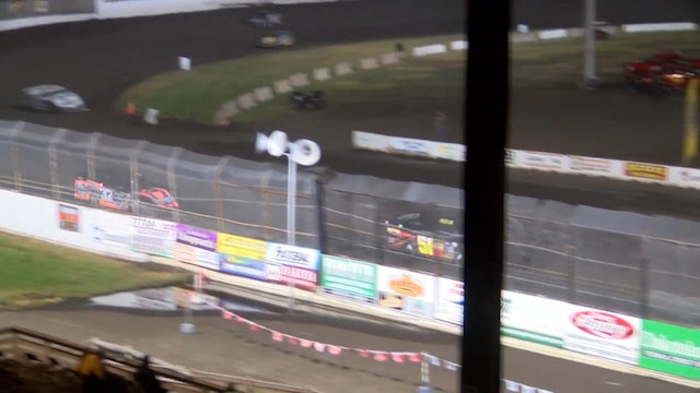 Wissota 100 Late Model A-Main Dakota State Fair Speedway 9/15/16