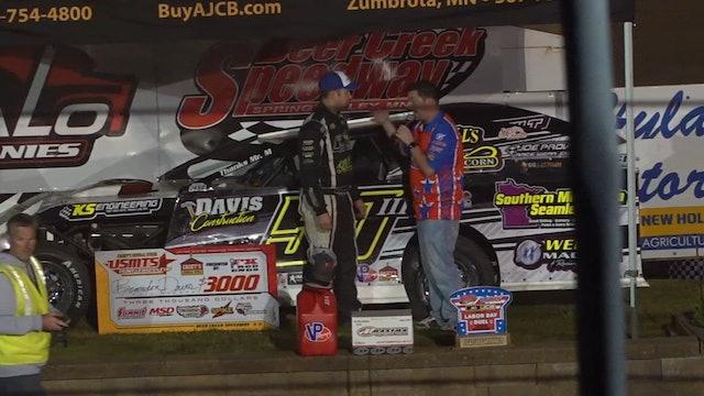 USMTS Post Race Interviews Deer Creek Speedway 8/31/19
