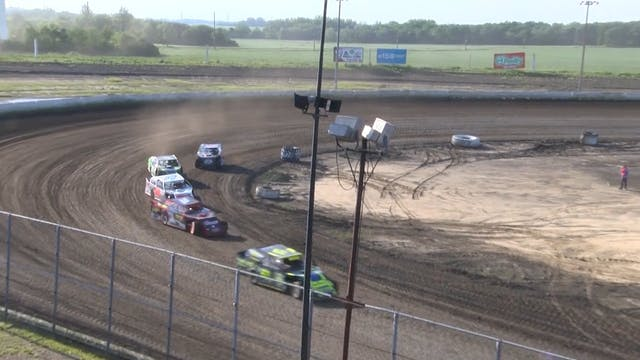 USRA B-Mods Heats Mason City 6/7/20