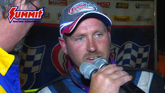 UMP Modified Nationals A-Main Farmer City Raceway 07/10/15