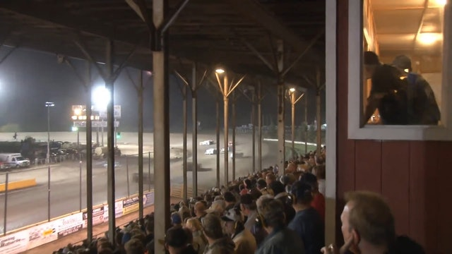 Late Model A-Main Viking Speedway 10/10/15