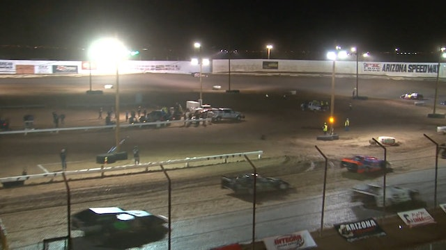 Wild West Shootout USRA Modified A Main @ Arizona Speedway 1/13/18