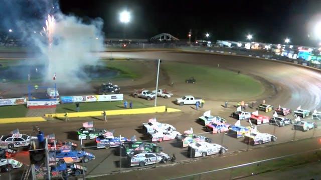 USMTS A-Main Cedar Lake Speedway 6/13/20