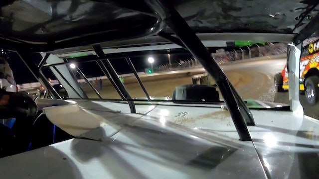 Ricky Thorton Jr In Car USMTS King of America Humboldt Speedway 3/27/21