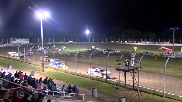 USMTS A-Main Humboldt Speedway 8/5/16