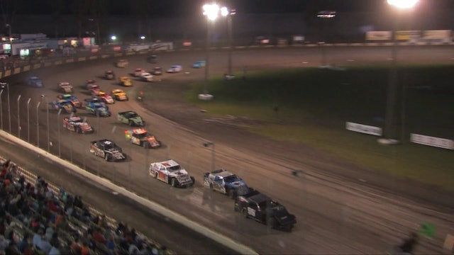 USMTS Feature 1 Lakeside Speedway 10/5/13