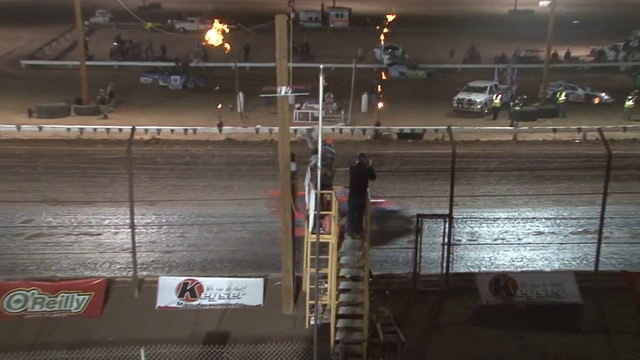 Wild West Shootout USRA Modified A Main @ Arizona Speedway 1/7/18