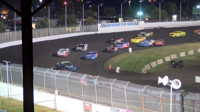 Wissota 100 Race Of Champions Super Stocks Dakota State Fair Speedway 9/15/16