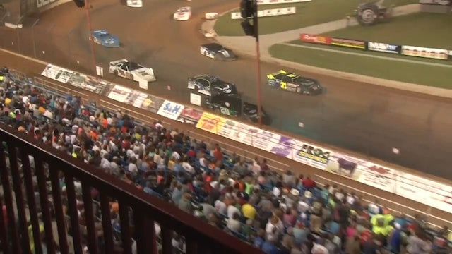 Diamond Nationals A-Main Lucas Oil Speedway 07/11/15