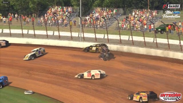 USMTS iRacing A-Main Dirt Track at Ch...