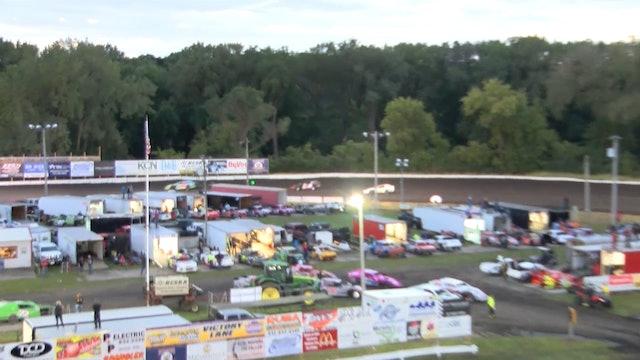 USRA Nationals B-Mod Heats Hamilton County Speedway 9/26/19