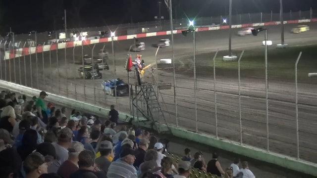 $1500 USRA B-Mod A-Main Lakeside Speedway 7/14/17