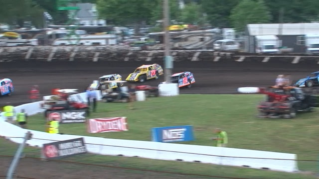 UMP Prairie Dirt B Main 1 Fairbury Speedway 7/27/19