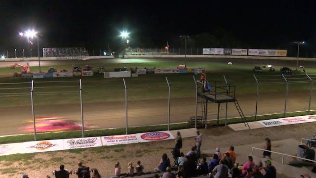 USRA B-Mod Heats Humboldt Speedway 8/...