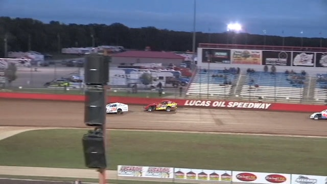 USRA Clash of Champions B-Mod Heats Round 2 Lucas Oil Speedway 10/13/18