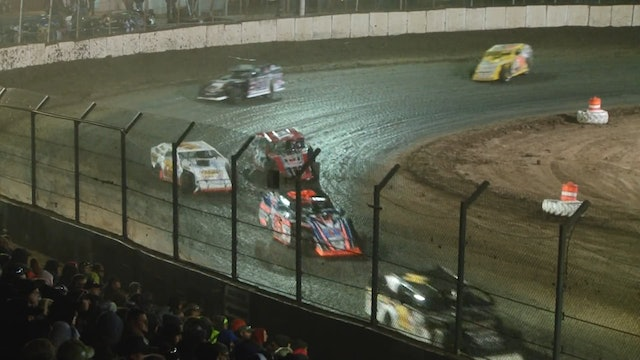 UMP Modifieds LaSalle Speedway A Main 3/26/16