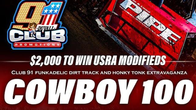LIVE Cowboy 100 Red Dirt Raceway 7/30/21