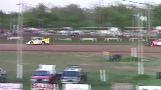 Monett Speedway Late Model Heats 04/08/12