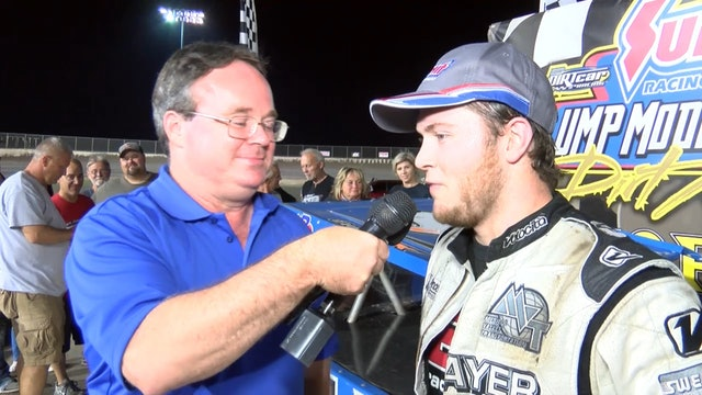 Modified Mania Bobby Pierce Post Interview Tri City Speedway 9/28/19